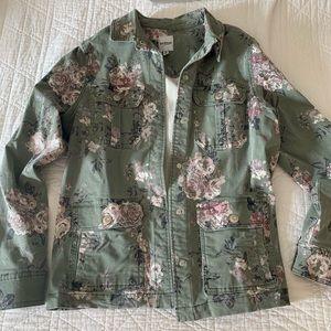 Floral Kenzie lightweight jacket, size M